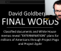 "Oct 18, 2019 ""Friends of David Goldberg"" Israeli Psyop"